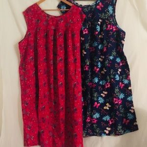 Two house dresses